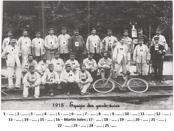N 35 1915 equipe des gardes voies