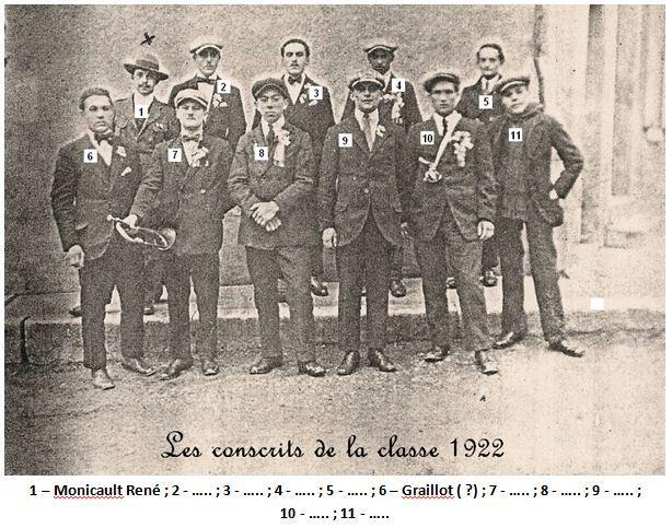 N 36 1922 conscrits