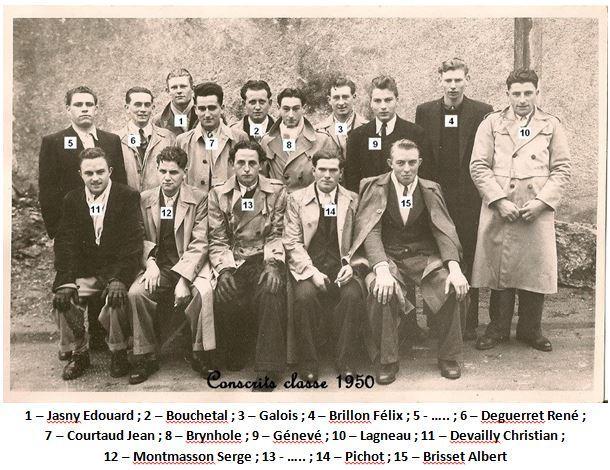 N 37 1950 conscrits